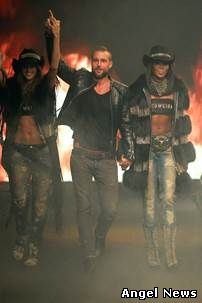 PHILIPP PLEIN Women's Fall/Winter 2014/2015 Fashion Show MY AMERICAN DREAM