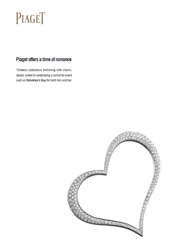 Piaget oferece um tempo de romance com Coleções atemporais cheias de charme.