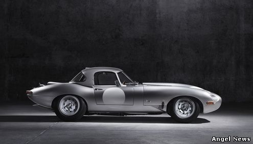 The new Lightweight E-type is the first recreation to come from Jaguar Heritage