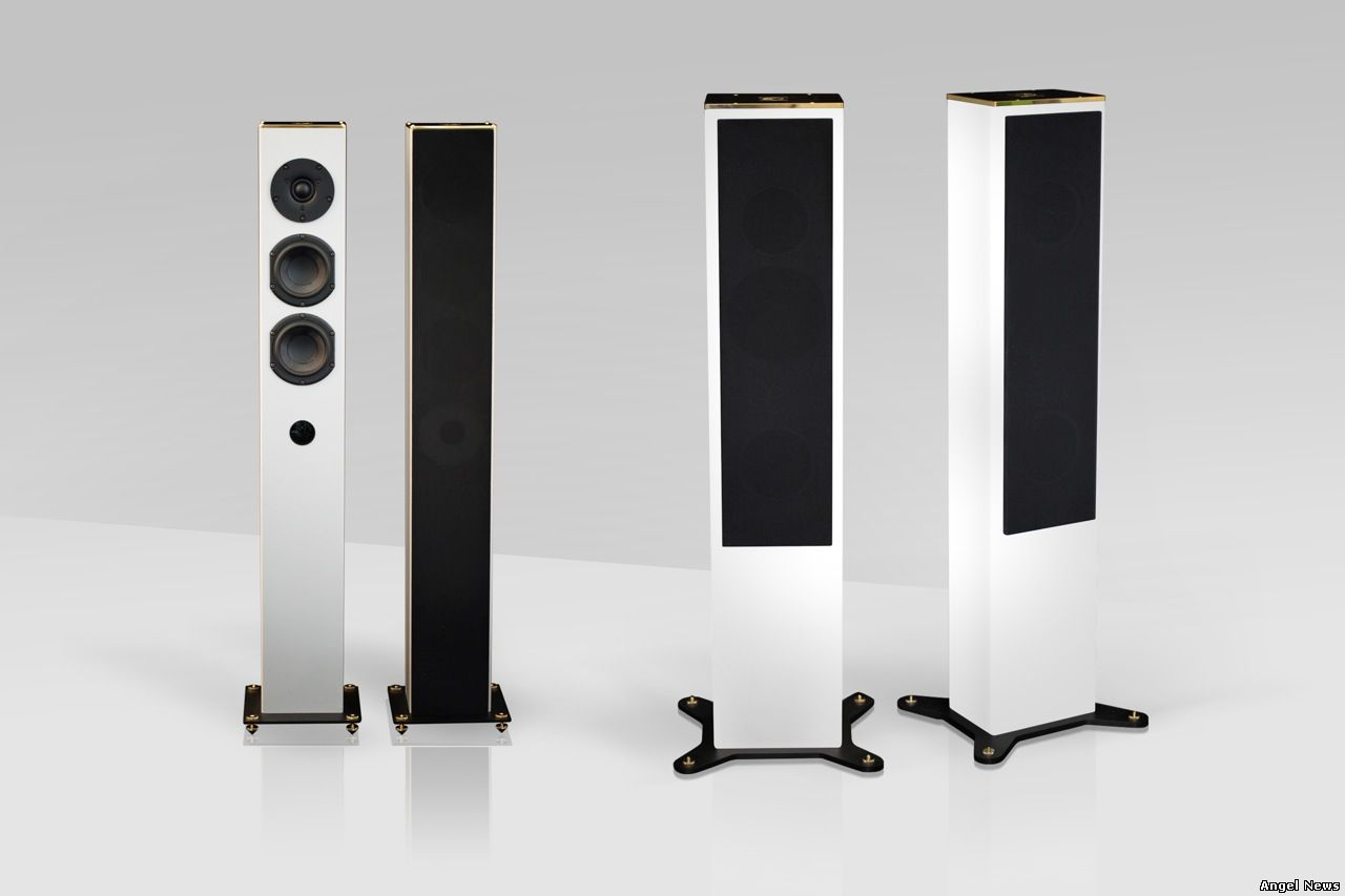 THE NEW TOWERS BY GOLDMUND High-End Lifestyle Audio Systems