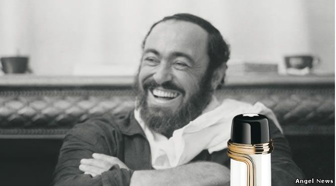 Patron of Art Edition Luciano Pavarotti In honor of the greatest tenor of all time