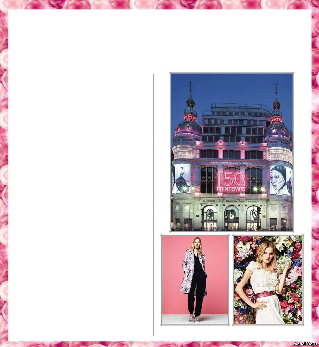 From 20th March to 20th June, Printemps is the place to be, to celebrate and to shop!