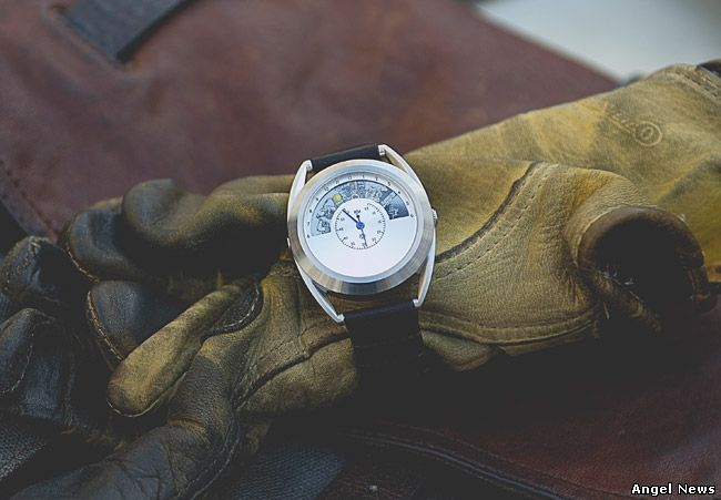 motochrono a collaboration between Mr Jones Watches