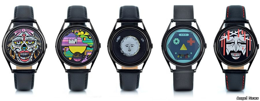 Face Timers from Mr Jones Watches