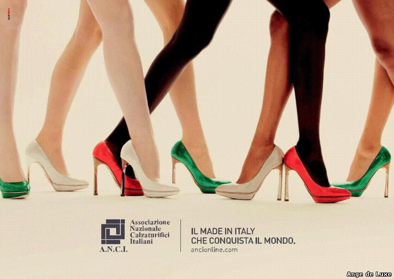 Anci: new world-conquering campaign for Italian-made footwear.