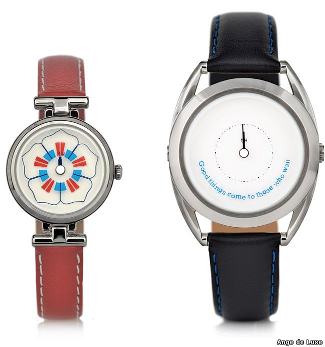 The watch from Mr Jones Watches is inspired by floriography